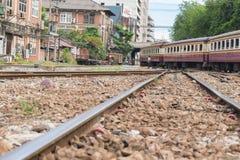 Tajlandzki kolej pociąg Fotografia Stock