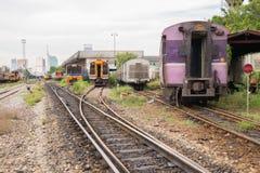 Tajlandzki kolej pociąg Obrazy Stock
