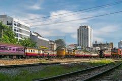 Tajlandzki kolej pociąg Zdjęcia Stock