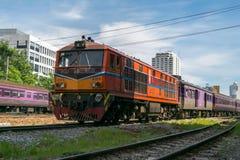 Tajlandzki kolej pociąg Obraz Stock