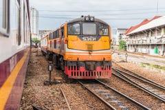 Tajlandzki kolej pociąg Zdjęcie Royalty Free