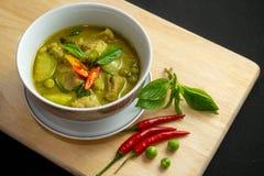 Tajlandzki Korzenny zielony curry obraz royalty free