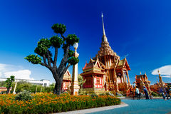 Tajlandzki królewski crematorium Obrazy Stock