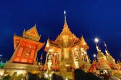 Tajlandzki królewski crematorium Obraz Royalty Free