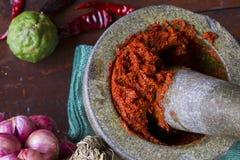 Tajlandzki kucharstwo Zdjęcie Stock