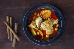 Tajlandzki kucharstwo, Massaman curry Obraz Stock