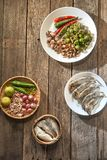 Tajlandzki kuchni nam prik lub chili pasta mieszamy fotografia royalty free