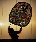 tajlandzki kukiełkowy przedstawienie Obrazy Stock