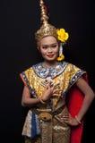 tajlandzki kulturalny przedstawienie obraz stock