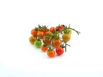 Tajlandzki lokalny mini pomidor na bielu Zdjęcia Royalty Free