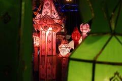 Tajlandzki loykratong lampion Obraz Royalty Free