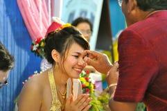 tajlandzki ślub zdjęcia stock