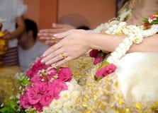 Tajlandzki ślubu styl Zdjęcia Royalty Free