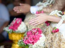 Tajlandzki ślubu styl Obrazy Royalty Free