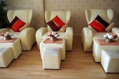Tajlandzki masażu krzesło obraz stock