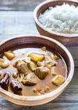 Tajlandzki Massaman curry Zdjęcie Royalty Free