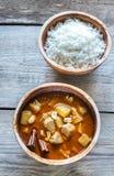 Tajlandzki Massaman curry Obraz Royalty Free