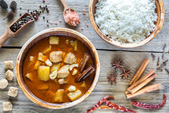 Tajlandzki Massaman curry Obrazy Royalty Free