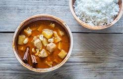 Tajlandzki Massaman curry Zdjęcie Stock