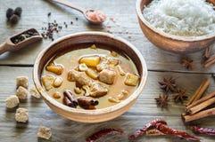 Tajlandzki Massaman curry Obraz Stock