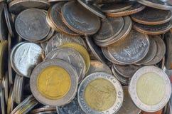 Tajlandzki menniczy pieniądze Obrazy Royalty Free