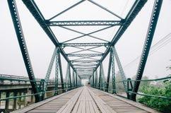 Tajlandzki most Zdjęcia Royalty Free