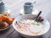 Tajlandzki śniadanie obrazy stock