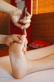 tajlandzki nożny masaż Obrazy Stock