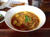 Tajlandzki Północny jedzenie Zdjęcie Royalty Free