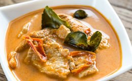 Tajlandzki panang curry Obraz Stock