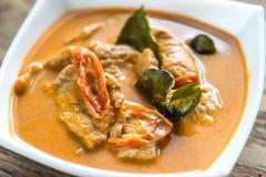 Tajlandzki panang curry Zdjęcia Stock