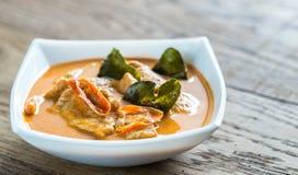 Tajlandzki panang curry Fotografia Royalty Free