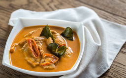 Tajlandzki panang curry Obrazy Royalty Free