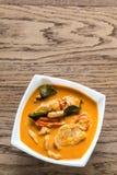 Tajlandzki panang wieprzowiny curry Obrazy Royalty Free