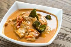 Tajlandzki panang wieprzowiny curry Zdjęcie Stock