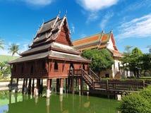 Tajlandzki pawilon Zdjęcia Stock