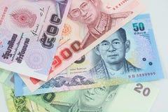 Tajlandzki pieniądze Zdjęcia Stock