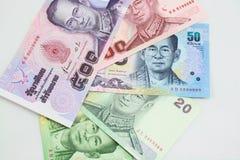 Tajlandzki pieniądze Obrazy Stock