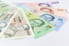 Tajlandzki pieniądze Zdjęcia Royalty Free