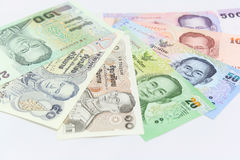 Tajlandzki pieniądze Obrazy Royalty Free