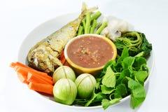 Tajlandzki pikantność kumberland, warzywo i Obraz Royalty Free