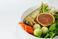 Tajlandzki pikantność kumberland, warzywo i Zdjęcie Stock