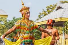 Tajlandzki Południowy Norah taniec Zdjęcie Royalty Free