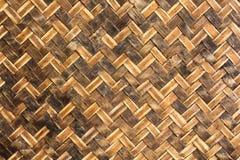 Tajlandzki rękodzieło od bambusa Zdjęcia Royalty Free