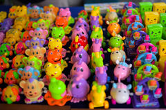 Tajlandzki retro zabawkarski kolor Asia dla dzieciaka, Thailand Zdjęcia Stock