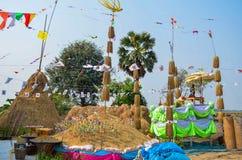 Tajlandzki ryżowy rytuał Obraz Royalty Free