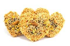 Tajlandzki ryżowy krakers Zdjęcie Royalty Free