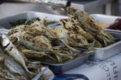 Tajlandzki rybi uliczny jedzenie Fotografia Royalty Free