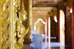 Tajlandzki rzeźbiący wizerunek niska ulga Obraz Royalty Free