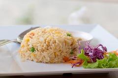 Tajlandzki Słodki Kleisty Rice z mango obraz royalty free